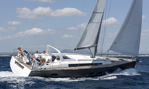 Beneteau Oceanis 55 - BJ Marine are the official Beneteau Dealer for the UK and Ireland covering Wales, Northern Ireland and the Republic of Ireland