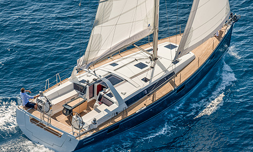 Beneteau OCEANIS 48 navigation sailing