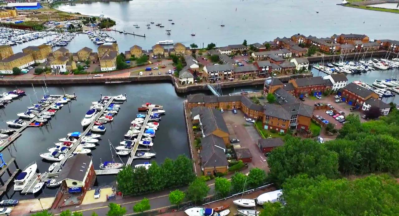 BJ Marine Penarth Marina Cardiff New and Used Boat Sale Cardiff Wales