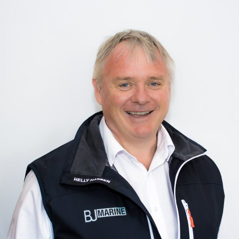 BJ Marine Cardiff New and used boat Sales Executive George Hill