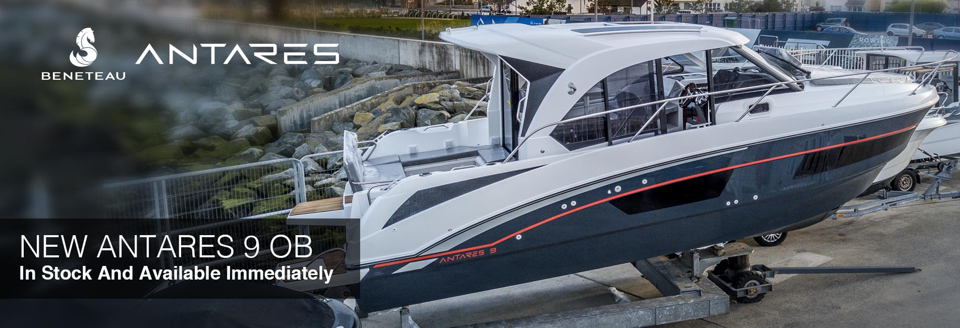 New Beneteau Antares 9 OB 2019 Cannes Southampton