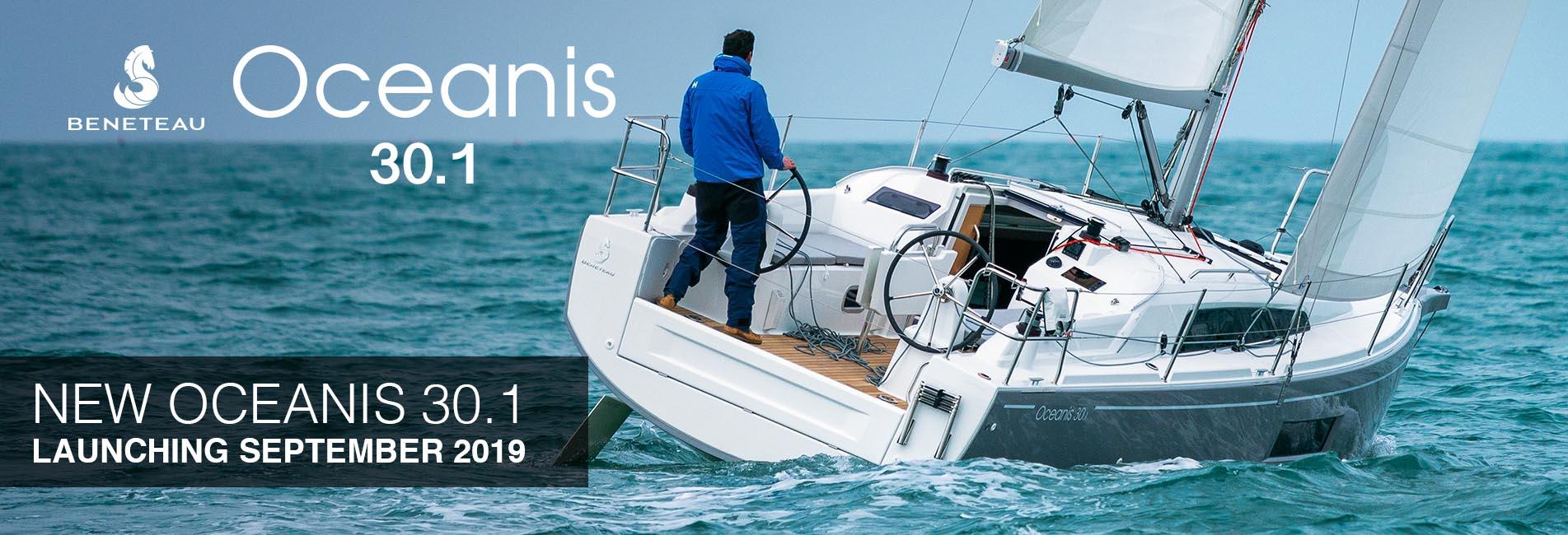 New Beneteau Oceanis 30.1 2019 Cannes Southampton
