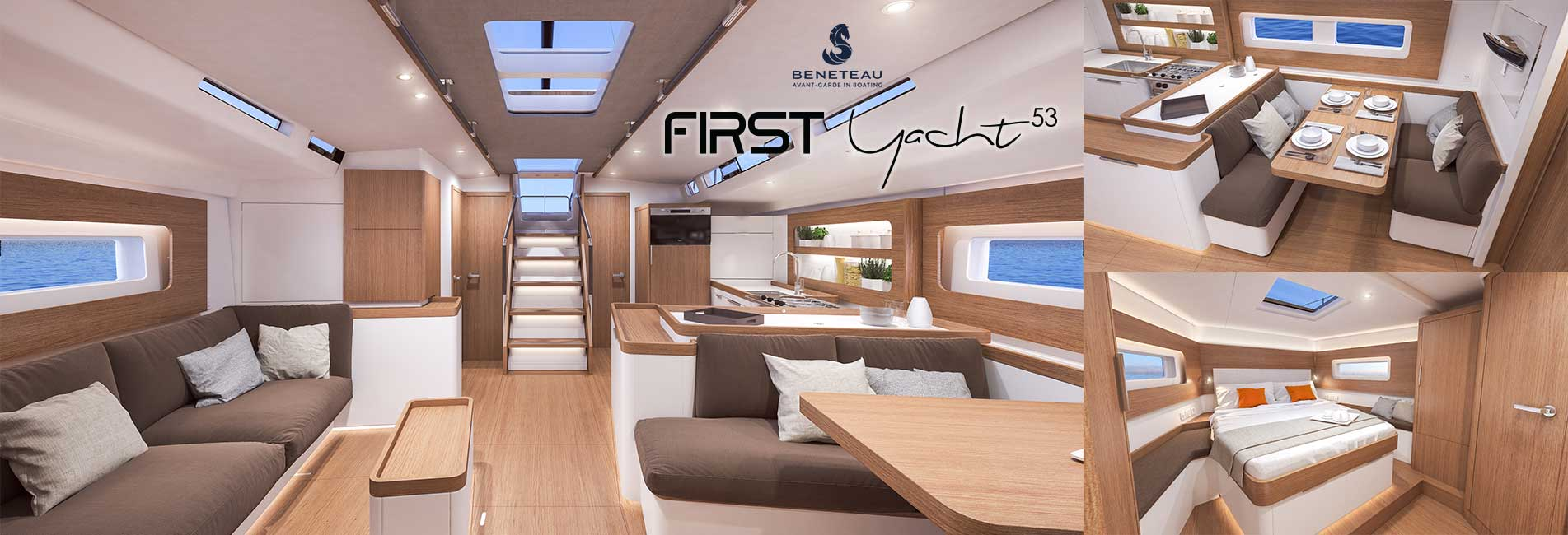 Beneteau First Yacht 53 Interior