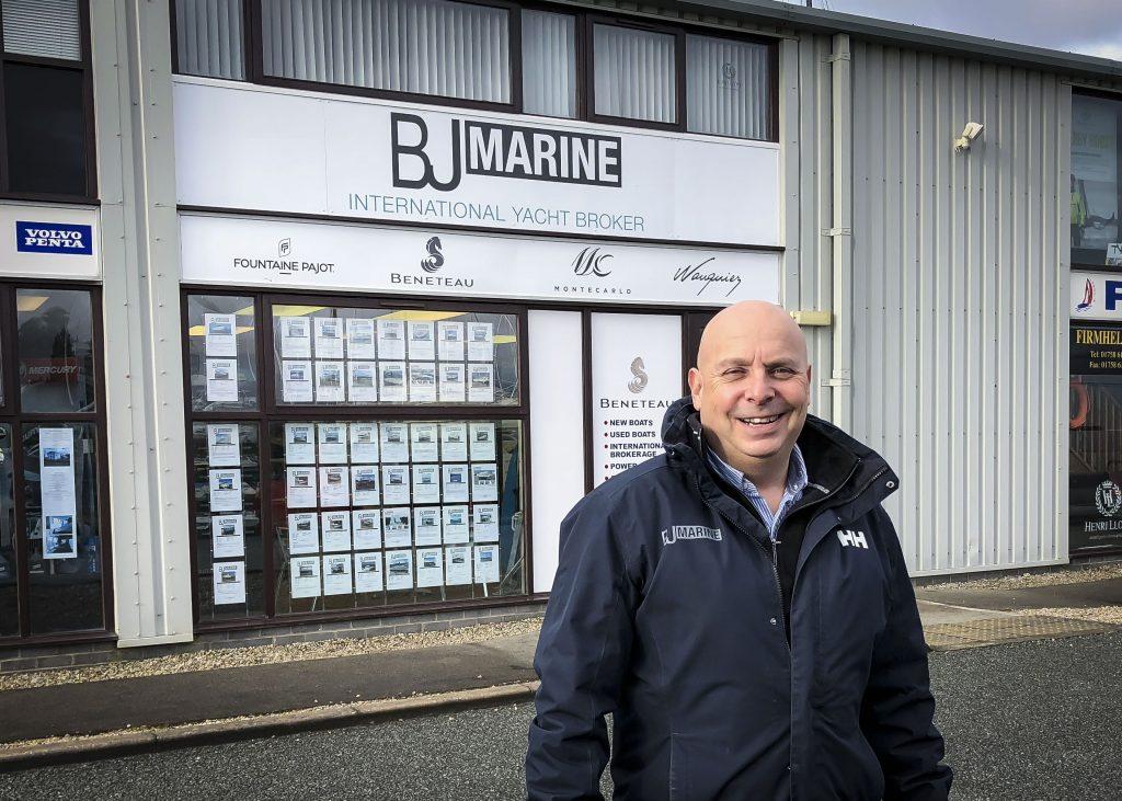 Photo Of Mike Caplan Office Manager At BJ Marine Pwllheli
